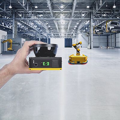 Safety Laser Scanners To Banish Space Problems in Mobile Applications