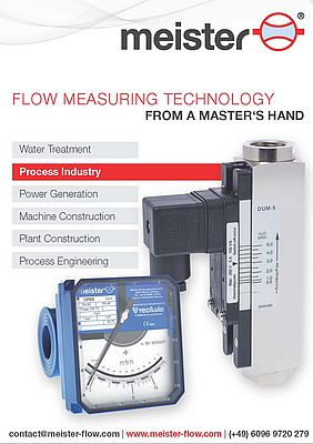 Flow Measuring Technology