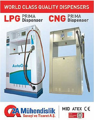PRIMA, LPG and CNG dispensers