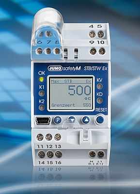 Safety temperature limiters/monitors with ATEX approval