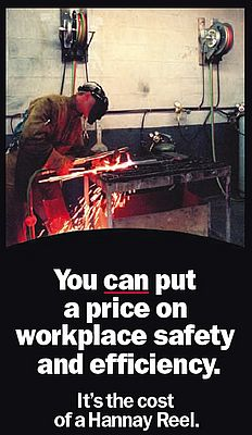 Reels, for workplace safety & efficiency