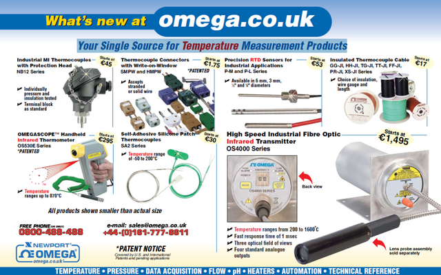 What's new at omega.co.uk