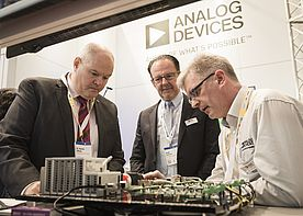 Analog Devices Joined US/European Union Trade Discussion at Hannover Messe 2019