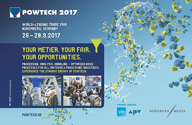 POWTECH - The world leading fair for for powder, granule and bulk solids technologies