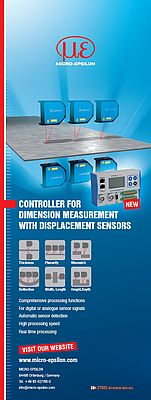 Controller for dimension measurement