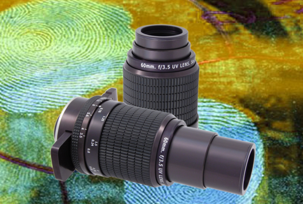 This kind of forensic lens by Resolve Optics has a scope with with a 1:1 lens magnification
