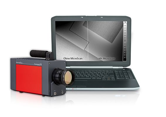 Increased Resolution for Thermography Camera