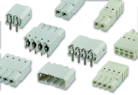 Connectors for LED Inline Modules in THT Technology