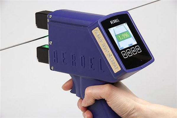 Contactless Handheld Optical Micrometer