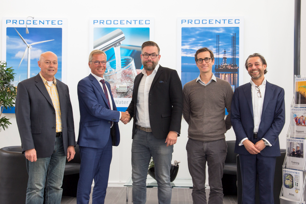 A training cooperation between PROCENTEC and itsme is starting