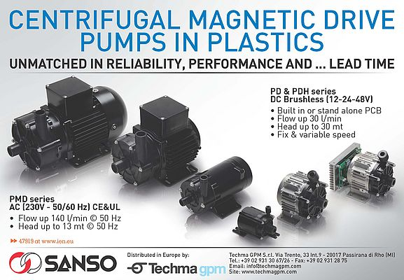 Centrifugal Magnetic Drive Pumps PMD Series