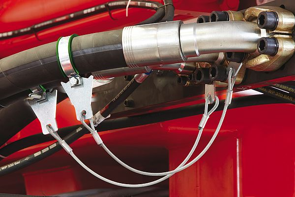 Stopflex: Patented Retention System for Pressure Hoses