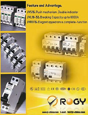 Circuit breakers, JVS16, JVL16-32, JVRX16