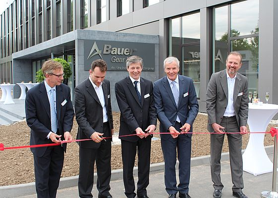 Bauer Opens Production Facility at the Headquarters in Esslingen