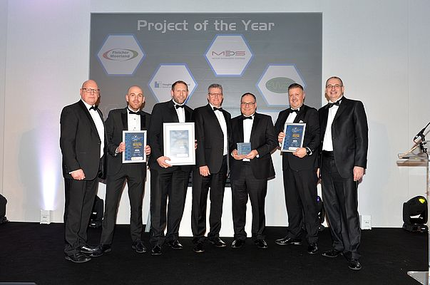 Project of the Year: Houghton International, Full Stator Rewind and Core Rebuild