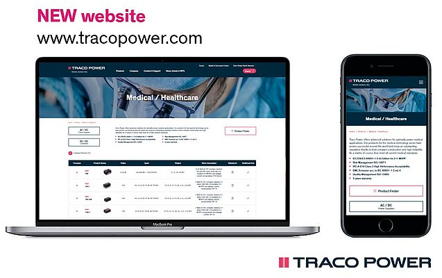 Traco Power Launches a New Website