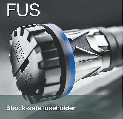 Shock-safe fuseholder