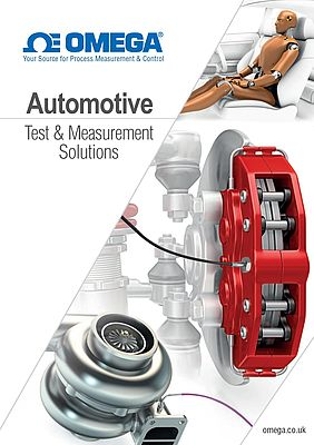 Sensors and Measurement Instrumentation for the Automotive Industry – FREE catalogue download!