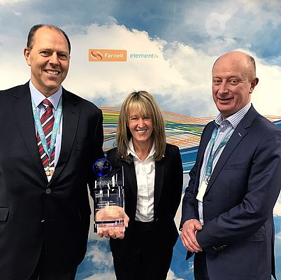 Farnell Wins CamdenBoss Distributor of the Year Award for 2016