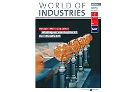"Hannover Messe and CeMAT according to ""World of industries 2/18"""