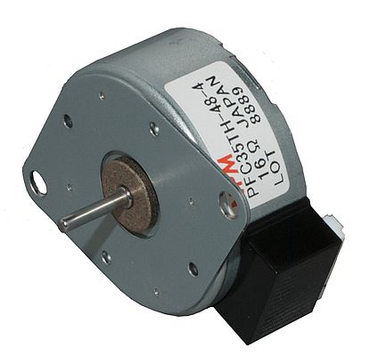 Tin-can Stepper Motor