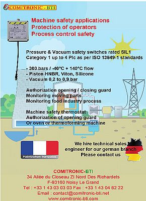 Safety Switches and Relays