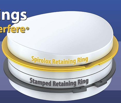 Spirolox® Retaining Stainless Steel Rings: No Ears To Interfere