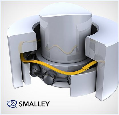 Smalley Wave Springs Prolong Bearing Life