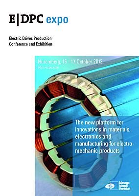 E|DPC 2012: New Exhibition For Electric Drives Production Technologies