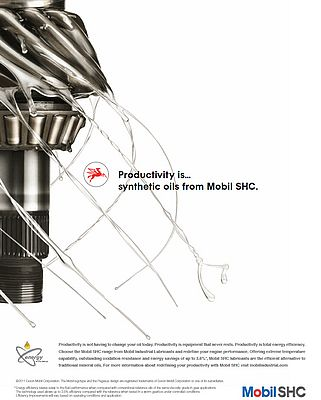 Synthetic oil from Mobil SHC