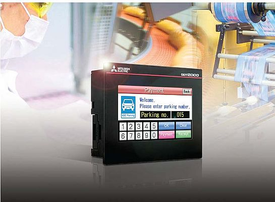 Compact HMI with advanced functionality