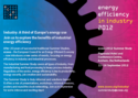 Industry: A third of Europe's energy use