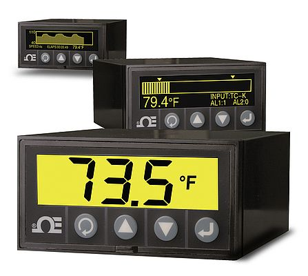 Graphic Display Panel Meter & Data Logger