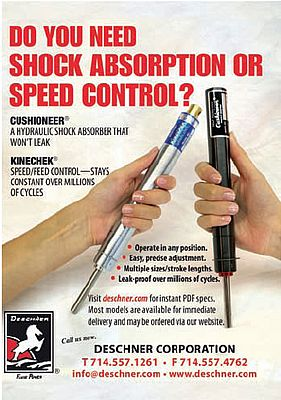 Shock absorbers and feed control