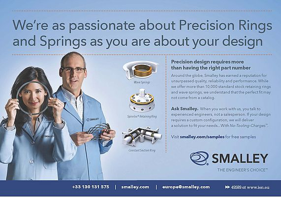 Passionate about Precision Rings and Springs