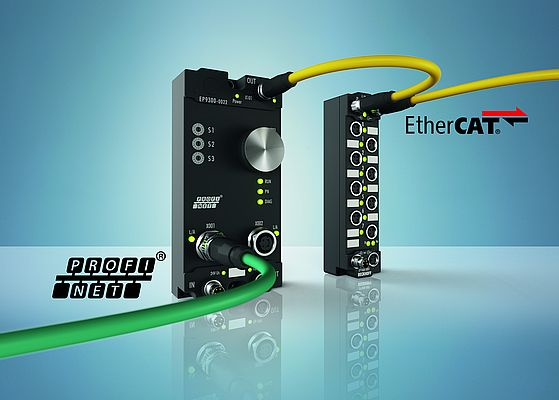 Machine-Mountable EtherCAT Box I/O