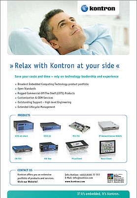 Relax with Kontron at your side