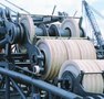 Rolling bearings improve life of crane cable sheaves