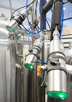 The Bürkert Element series of pneumatic process valves are fit-for-purpose to deliver precise and reliable temperature control in a glycol / brewer cellar environment