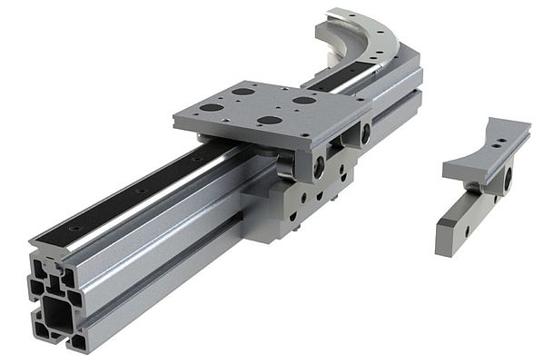 Linear motion carriages