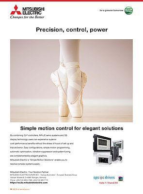 Simple Motion Control for Elegant Solutions