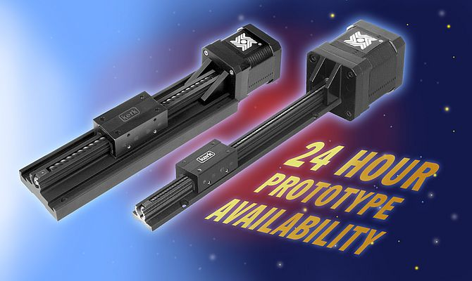 Motorized Linear Rail Prototypes