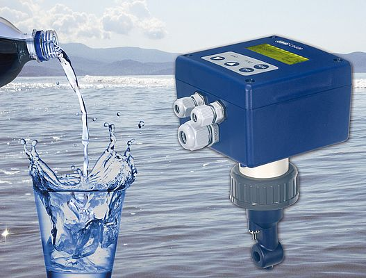 The Jumo CTI-500 is used to measure and control the conductivity and concentration of liquid media