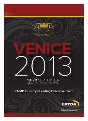 2013 EPTDA Annual Convention in Venice
