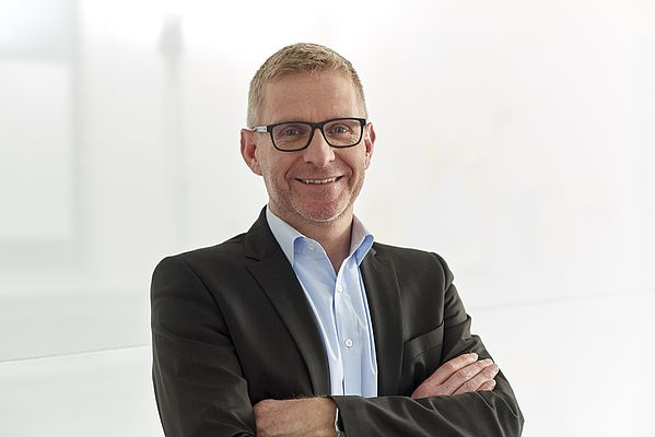 Dr. Ulf Lehmann, Head of Business Unit Linear Motion Technology at Bosch Rexroth AG