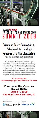 Progressive Manufacturing Summit