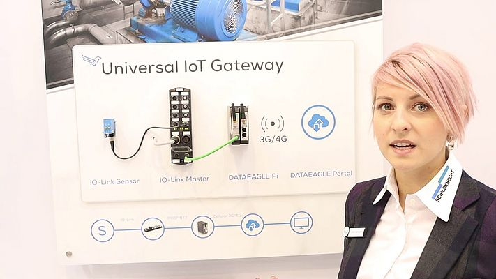 Schildknecht Presents the Universal ioT Gateway at SPS IPC Drives 2018