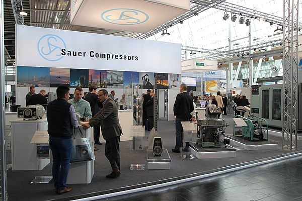 Sauer Compressors Shows off its Comprehensive Complete Range