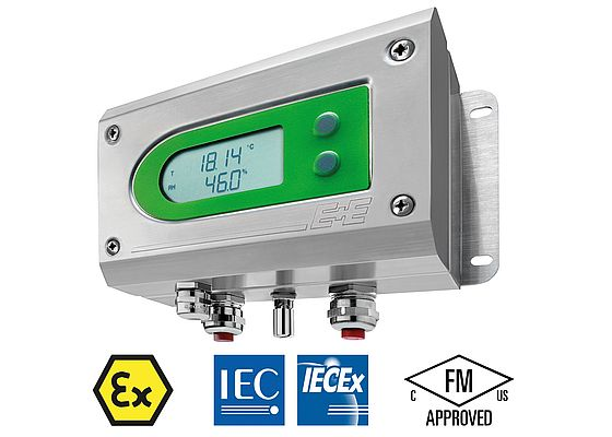 ATEX Humidity & Temperature Transmitter