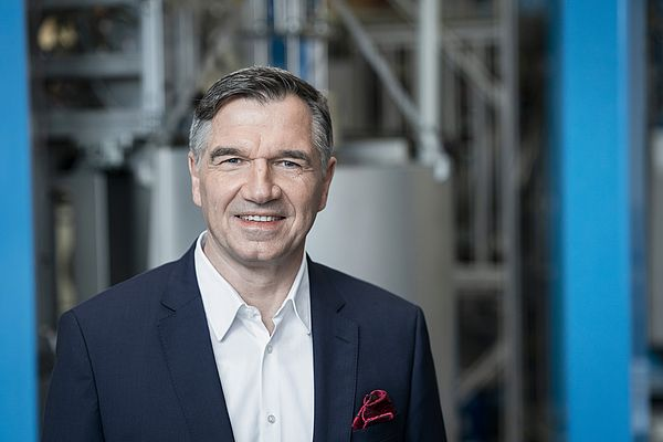 Nikolaus Krüger, Chief Sales Officer at the Endress+Hauser Group